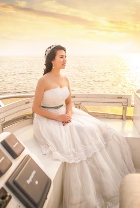 克里斯汀婚纱照客片