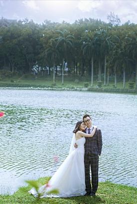 深大校园婚纱摄影