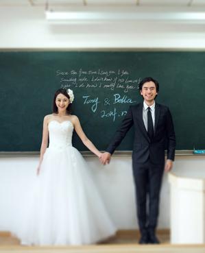 青春纪念册主题婚纱摄影