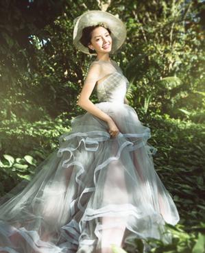 时光森林主题婚纱摄影