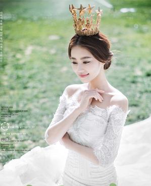 星冠红颜婚纱摄影照片