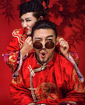 龙凤中国婚纱摄影照片