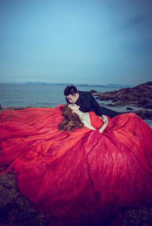 海景系列 | 客片欣赏 | 深圳蒙娜丽莎婚纱摄影