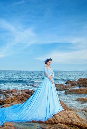 蒙娜丽莎婚纱摄影十月份客照作品