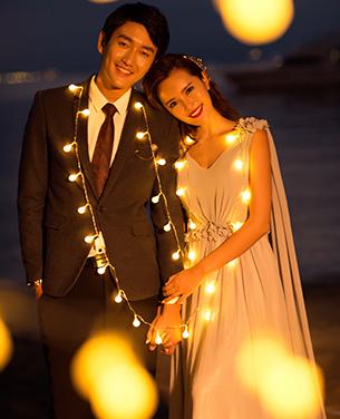 深圳外景婚纱摄影|海景婚纱照|蒙娜丽莎作品欣赏