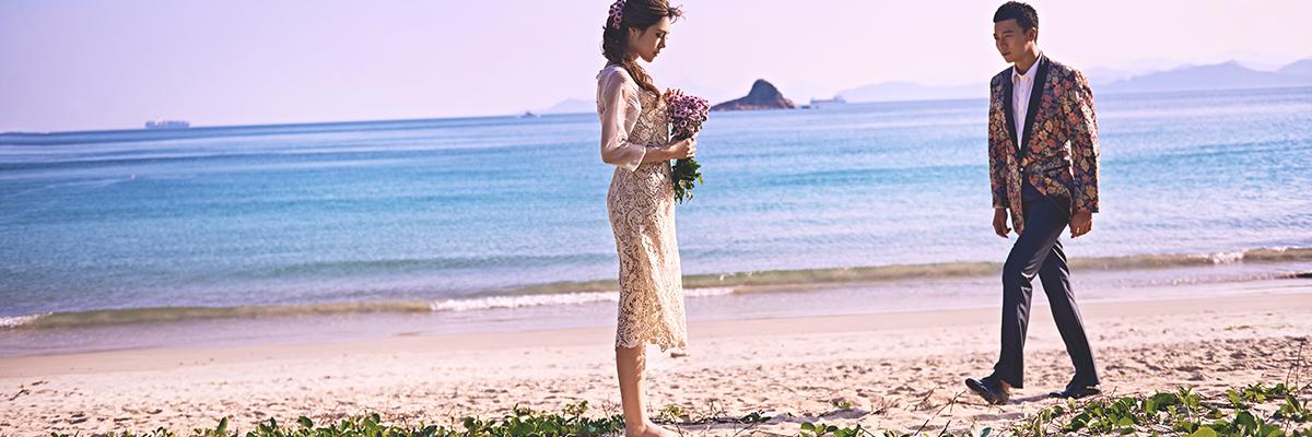 海景婚纱摄影 克里斯汀海滩