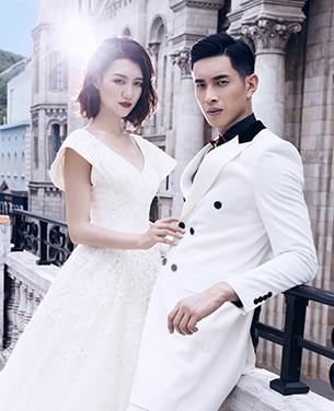 深圳婚纱摄影作品 爱丁堡婚纱照 摄影工作室