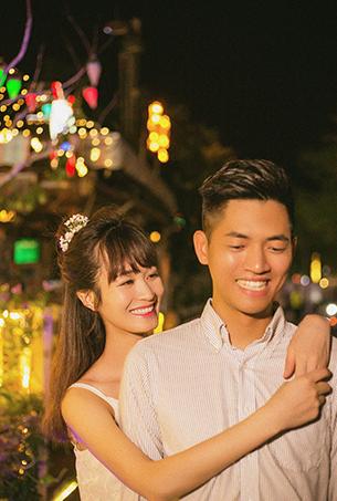 深圳婚纱摄影 城市夜景旅拍 婚纱照客片欣赏