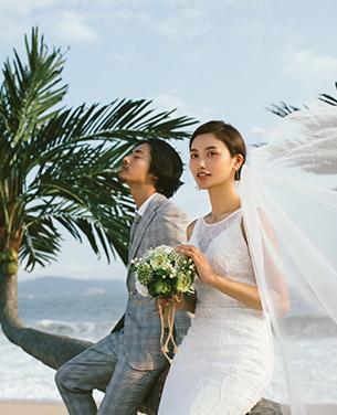 深圳婚纱摄影 外景主题婚纱照 青禾蒙娜丽莎
