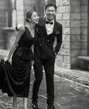 深圳蒙娜丽莎婚纱摄影《爱丁堡》婚纱照作品