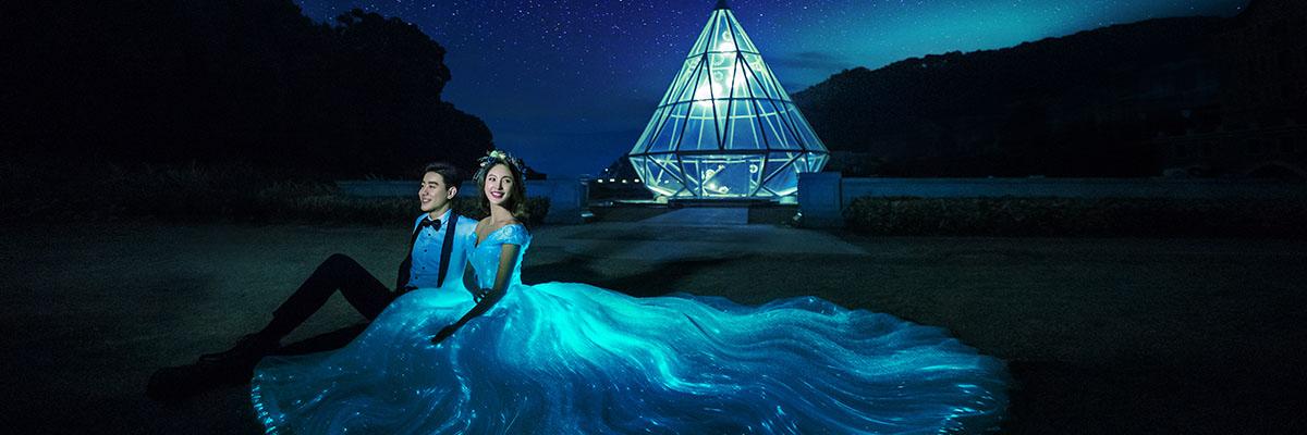 深圳婚纱摄影工作室 蒙娜丽莎婚纱照新景发布会 27周年店庆活动