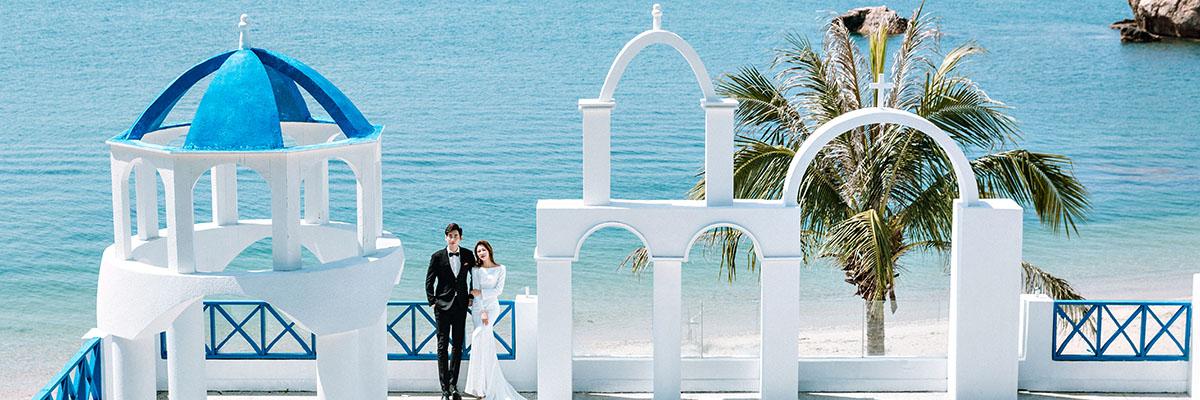 深圳婚纱摄影工作室 蒙娜丽莎拍婚纱照 全国旅拍新风格