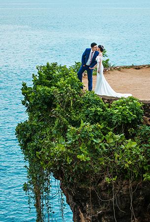 八月客照欣赏 唯美海景婚纱摄影旅拍