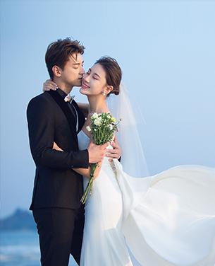 千千阙歌 海景婚纱摄影主题