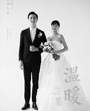 温暖 情侣风婚纱摄影主题作品