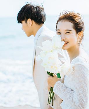 海之恋曲 海景婚纱摄影主题