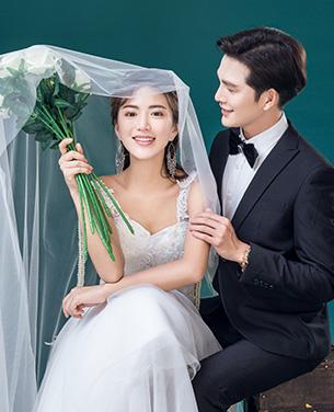 女人花 韩风主题婚纱摄影
