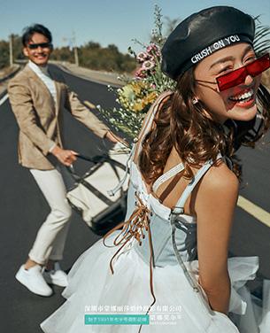 《逆光之夏》Ins轻旅风主题婚纱摄影作品