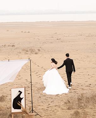 深圳蒙娜丽莎婚纱摄影个性系列婚纱摄影作品《原·野》