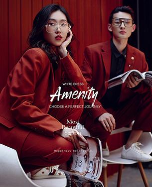深圳蒙娜丽莎婚纱摄影个性系列婚纱摄影作品《Amenity》