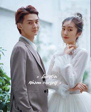 深圳蒙娜丽莎婚纱摄影个性系列婚纱摄影作品《复古欧罗巴》