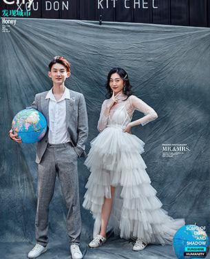 深圳蒙娜丽莎婚纱摄影个性系列婚纱摄影作品《城市探索》