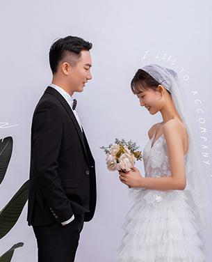 深圳蒙娜丽莎婚纱摄影个性系列婚纱摄影作品《往后余生》