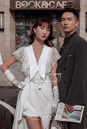 深圳蒙娜丽莎婚纱摄影原创客照作品《芳姿》个性街拍风