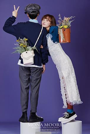 深圳蒙娜丽莎婚纱摄影原创客照作品《韩恋》唯美系列