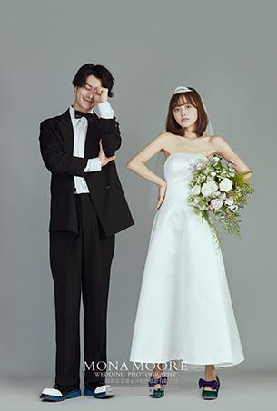 深圳蒙娜丽莎婚纱摄影原创客照作品《韩韵》唯美系列