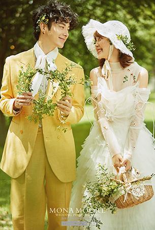 深圳蒙娜丽莎婚纱摄影原创客照作品《踏青》唯美系列
