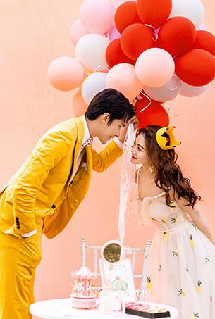 六月客照 爱情棉花糖,深圳蒙娜丽莎婚纱摄影原创客照欣赏