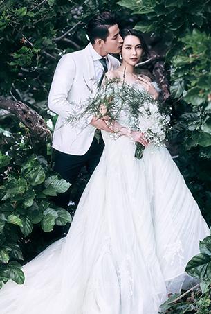 七月客照|深林仙境,深圳蒙娜丽莎婚纱摄影个性客照作品