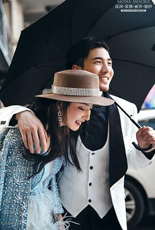 八月客照 漫时光,深圳蒙娜丽莎婚纱摄影个性客照作品