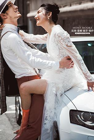 八月客照 爱乐之城,深圳蒙娜丽莎婚纱摄影个性客照作品